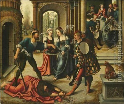 The-Martyrdom-Of-Saint-John-The-Baptist van Orley